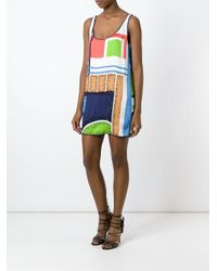 DSquared² - Multicolor Sequin Embroidery Dress - Lyst