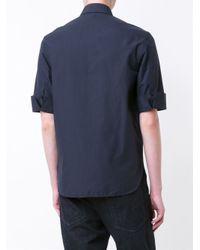 Neil Barrett - Blue Utility Shirt for Men - Lyst