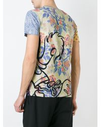 Moschino - Black Cartoon Print T-shirt for Men - Lyst