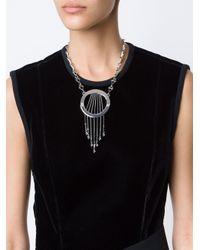 Eddie Borgo - Metallic Dreamcatcher Necklace - Lyst
