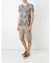 Etro - Multicolor Floral Print T-shirt for Men - Lyst