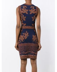 Valentino | Brown Sequined Silk Gown | Lyst