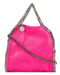 Stella McCartney | Pink The Falabella Faux Brushedleather Tote | Lyst