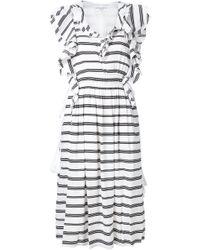 Apiece Apart | Natural 'san Rafael' Ruffle Dress | Lyst