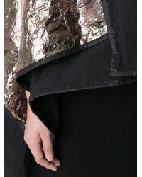 Simona Tagliaferri - Black Draped Wrap Cardigan - Lyst