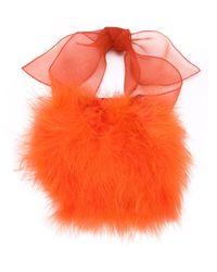 Sonia Rykiel - Orange Feather Down Bracelet - Lyst