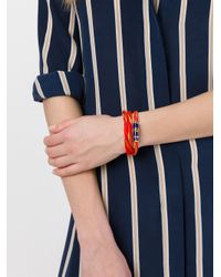 Aurelie Bidermann - Metallic 'takayama' Wrap Bracelet - Lyst
