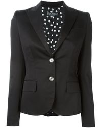 Dolce & Gabbana   Black Two Button Blazer   Lyst