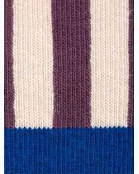Henrik Vibskov - Multicolor 'youngdo Brown' Pattern Socks for Men - Lyst