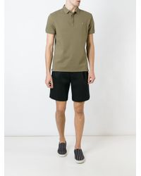 Valentino - Green 'rockstud' Polo Shirt for Men - Lyst