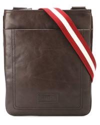 Bally - Brown 'terino' Shoulder Bag for Men - Lyst