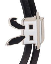 McQ - Black 'electro Bunny' Wrap Bracelet - Lyst