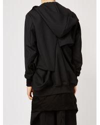 Moohong - Black Zipped Hoodie for Men - Lyst