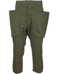 Alexandre Plokhov - Green Drop-crotch Pants for Men - Lyst