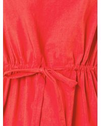 Erika Cavallini Semi Couture - Pink Belted Blouse - Lyst