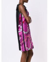 Lanvin - Black Mixed Tweed Lace Dress - Lyst