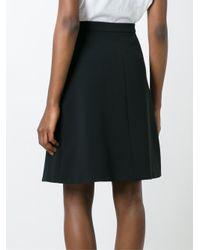 Carven - Black A-line Skirt - Lyst