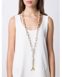 Maiyet - Metallic 'large Fish' Necklace - Lyst