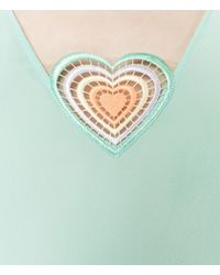 Christopher Kane - Blue Love Heart Top - Lyst
