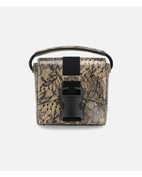 Christopher Kane - Multicolor Lace Printed Bonnie Shoulder Bag - Lyst