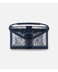 Christopher Kane - Blue Safety Buckle Shoulder Bag Clear Lace - Lyst