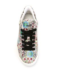 PUMA - Blue States X Swash Toucan Print Basket Trainers - Lyst