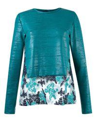 Fernanda Yamamoto | Blue Panelled Blouse | Lyst