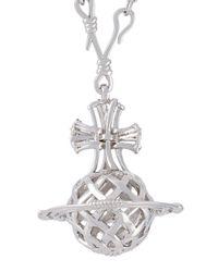 Vivienne Westwood - Metallic 'orb Pendant' Long Necklace - Lyst