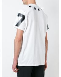 Givenchy - Black Star Patch T-shirt for Men - Lyst