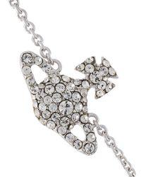 Vivienne Westwood - Metallic 'grace' Crystal Bracelet - Lyst
