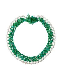 Aurelie Bidermann | Green 'do Brasil' Necklace | Lyst