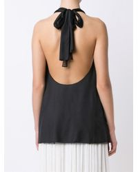 The Row - Black 'rochelle' Top - Lyst