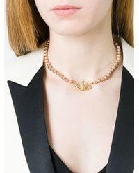 Vivienne Westwood | Metallic 'kika' Pendant Necklace | Lyst