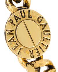 Jean Paul Gaultier - Metallic Chain Link Choker - Lyst