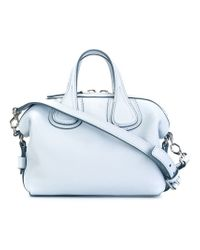 Givenchy Micro  nightingale  Tote in Blue - Lyst 0c627ef8ca34d