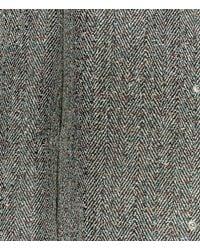 Christopher Kane - Gray Crazy Tweed Mac for Men - Lyst