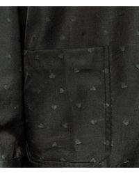 Christopher Kane - Black Heart Jacket Shirt for Men - Lyst