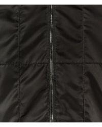 Christopher Kane - Black Technical Grid Bomber for Men - Lyst