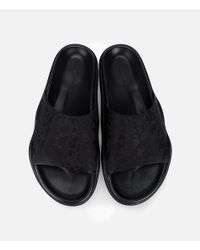 Christopher Kane - Black Decay Jacquard Slides for Men - Lyst