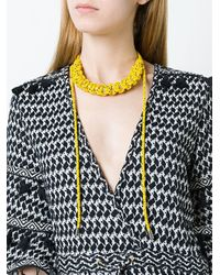 Isabel Marant | Yellow Rope Necklace | Lyst