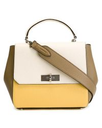 Bally - Brown 'turn' Small Shoulder Bag - Lyst