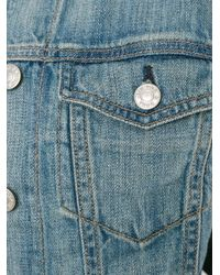 Rag & Bone - Black The Jean Jacket Medium Indigo - Lyst
