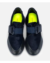 Christopher Kane - Blue Safety Buckle Trainers - Lyst