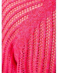 Marco De Vincenzo | Pink Lace V Neck Dress | Lyst