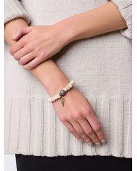Loree Rodkin - Multicolor Beaded Diamond Charm Bracelet - Lyst