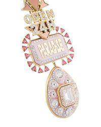 Vivienne Westwood - Metallic 'paradise Pendant' Necklace - Lyst