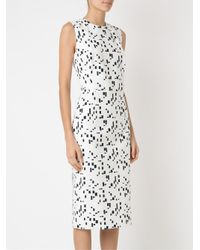 Andrea Marques - White Midi Dress - Lyst