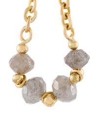 Natasha Collis - Metallic Loop Chain Earrings - Lyst