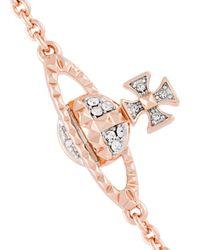Vivienne Westwood | Metallic Logo Charm Bracelet | Lyst