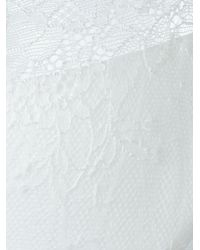 La Perla - White 'lace Flirt' Demi Padded Balconette Bra - Lyst